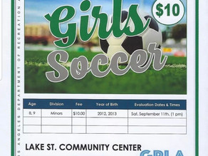 Registration Open for Lake Street Kids Sports Programs
