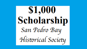 SP Bay Historical Society $1000 Scholarship