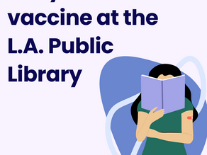 Free COVID Vaccinations at the Library
