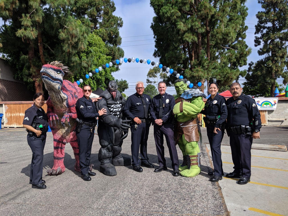 Pancake Breakfast with LAPD Pacific Division