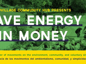 Sept. 19th - Save Energy & Win Money Workshop