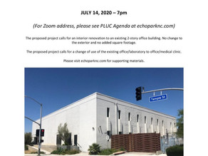 Presentation on 1441-1453 Temple on 7/14/20 at 7pm