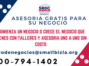 July 27 - Small Business Support Event