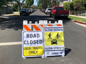 "Del Rey Family-Friendly (""Slow"") Streets"