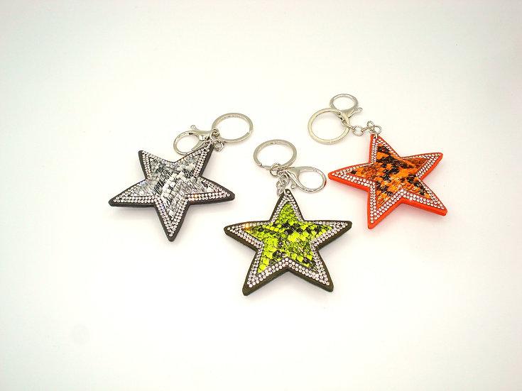 portes clés étoiles  sequins