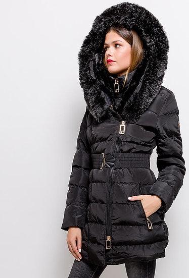 Doudoune | AniBags | veste | parka | hiver | fourrée | capuche | manches longues