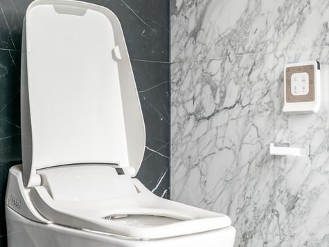 mmWave sensing in smart washlets