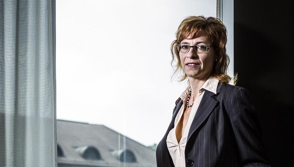 Gerichtspräsidentin Andrea Staubli in ihrem Büro im Falkengebäude: «Auch Richter sind nur Menschen.» Quelle: Chris Iseli