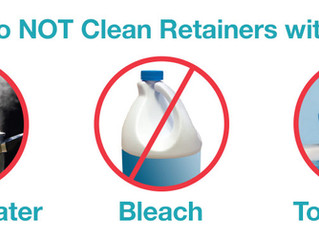 How to Clean Clear Plastic Retainers