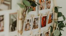 Boho- Polaroid Circle. Eure Bilder als Wanddekoration.