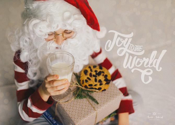 War der Nikolaus bei euch?