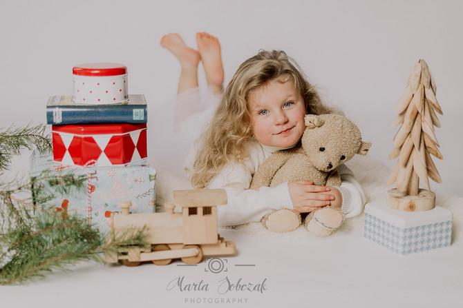 Festliche Kinderfotografie