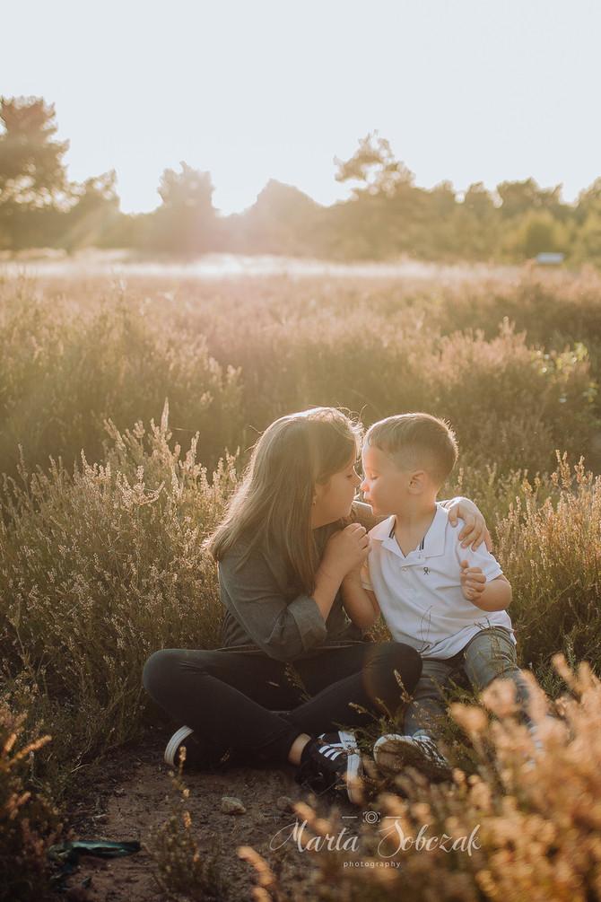 Fotoshooting für Geschwister