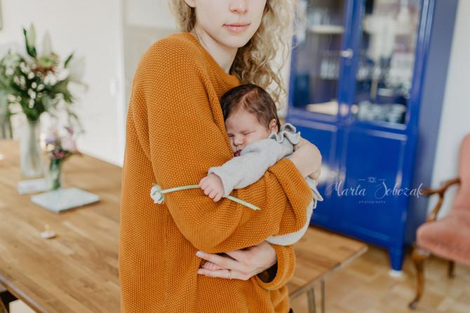Babybauch und Babyshooting.