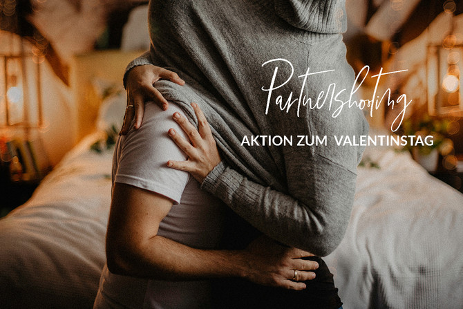 Partnershooting Aktion zum Valentinstag