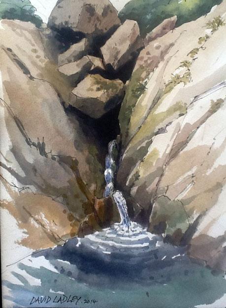davidpaintingwater