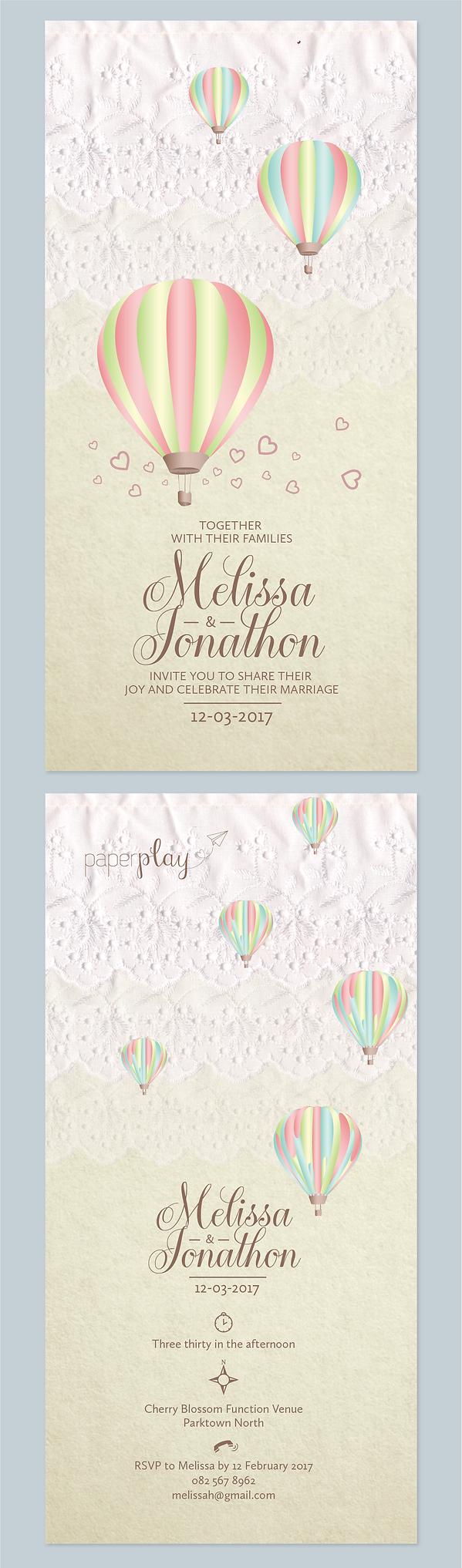 Studio Marguerite | Wedding Invitation Collection