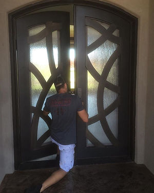 Iron Doors of Southern Utah can install