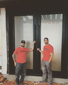 Here's the guys after installing this am