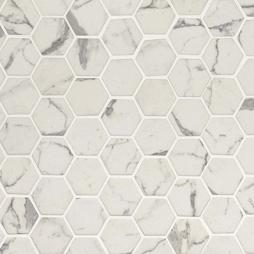Statuario Celano Hexagon