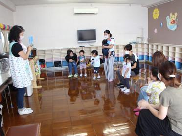 第2回 2才児教室~ぞうさんグループ~