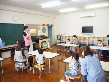 第1回 2歳児教室~うさぎさんグループ~