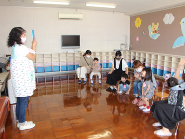 第2回 2才児教室~うさぎさんグループ~