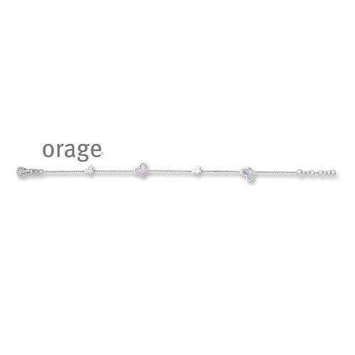 Bracelet Orage Kids AP225 en argent rhodié et laque