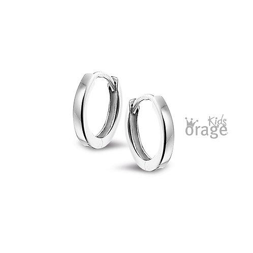 Boucles d'oreille Orage Kids K1876 en argent rhodié