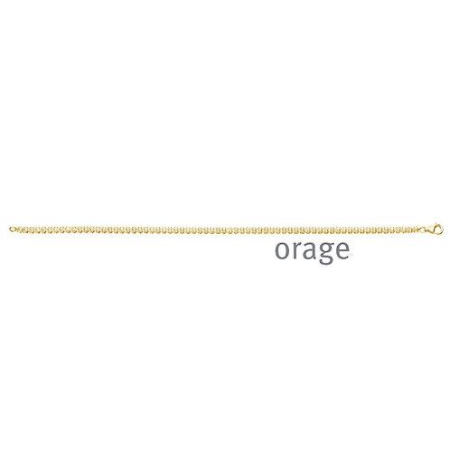 Bracelet Orage AR126 en argent doré et oxydes de zirconium