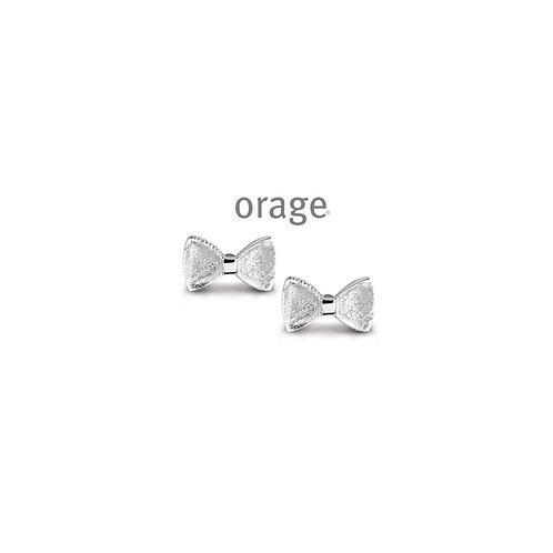 Boucles d'oreille Orage Kids AP220  en argent rhodié