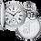 Thumbnail: Montre Tissot Savonnette Mécanique T864.405.99.033.00