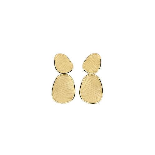 Boucles d'oreille Velvet or jaune Annamaria Cammilli