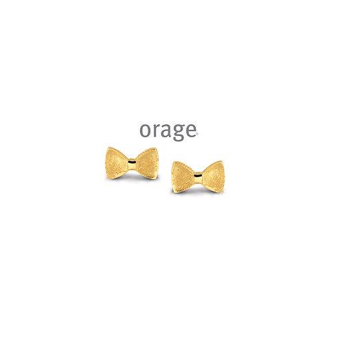 Boucles d'oreille Orage Kids AP221  en argent doré
