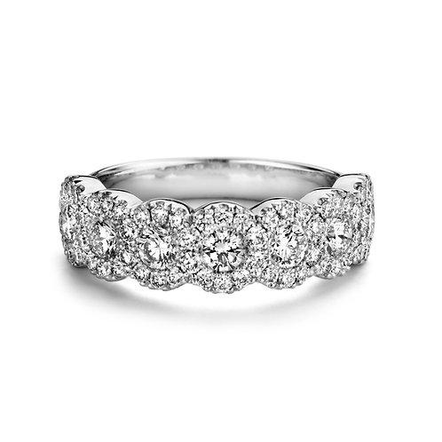 Bague Sofie en or blanc et diamants BLOCH