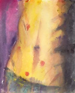 Lust 2. Watercolor.