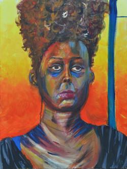 Woman. Acrylic.