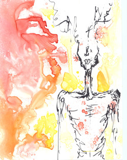 Untitled 2. Watercolor.