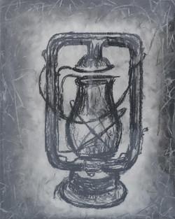 Lantern. Charcoal.