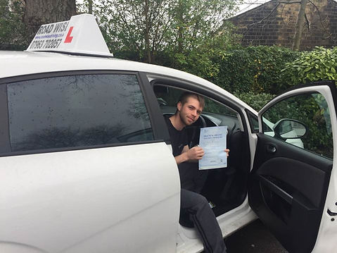 Congratulations on passing your driving test first time after taking an extensive driving course.