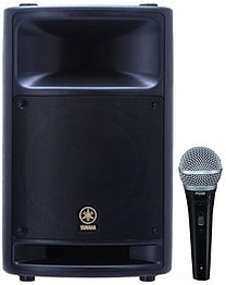 Yamaha MSR400 400w Powered Speaker w Mic
