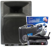 Semi-Pro 200w Powered Speaker w/ Radio Mic