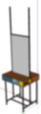 création meuble sur mesure plan 3D réalisé par le grain de sel décoration