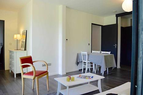 decoration appartement temoin pour le constructeur victoria avec location de meuble par le grain de sel