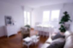 homestaging : désemcombrement du séjour à Bordeaux Cauderan par le grain de sel décoration