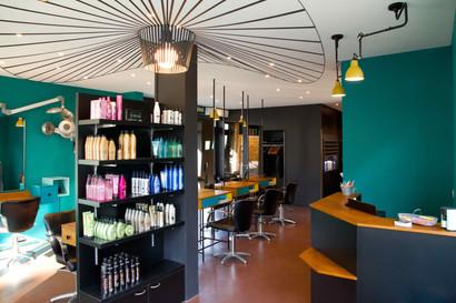 Salon de coiffure Médiathèque