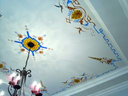 ceiling mural detail