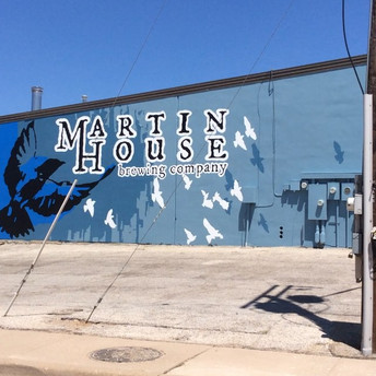 Martin house Brewery mural