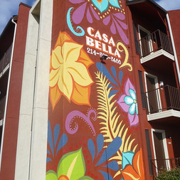 Casa Bella apartments mural