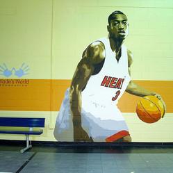 Dwyane Wade mural